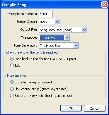 export song